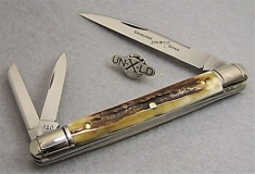 GEC #89 Executive Whittler Genuine Stag