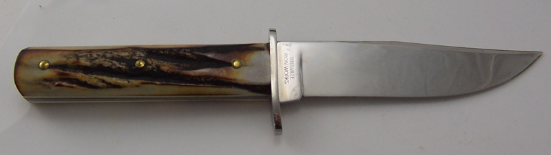 #50 Genuine Stag Tidioute Fixed Blade Hunter Knife