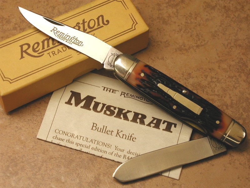 Remington R4466 Muskrat Bullet Knife (1988)