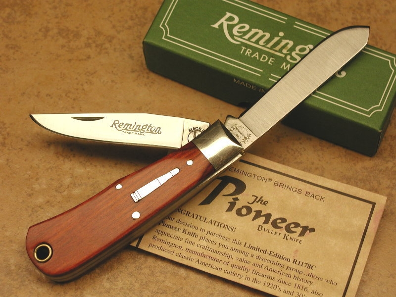 Remington R1178C Pioneer Bullet Knife (2003)