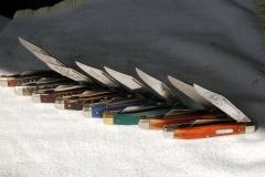 """Some of my 4"""" Schrade knives."""